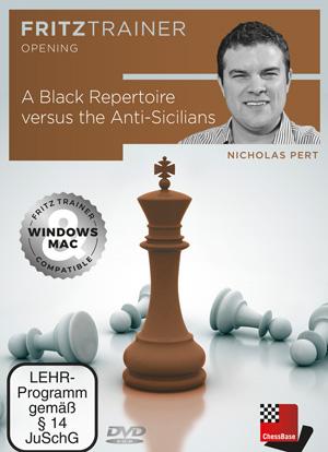 DVD : A Black Repertoire versus the Anti - Sicilians - Nicholas Pert [0]