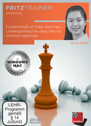 DVD: Fundamentals of Chess Openings - Understanding the ideas behind common openings - Qiyu Zhou imagine