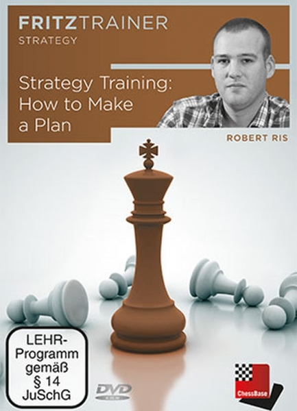 DVD: Strategy Training : How to Make a Plan - Robert Ris imagine