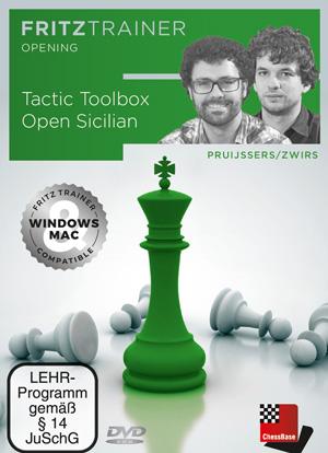 DVD : Tactic Toolbox Open Sicilian - Pruijssers / Zwirs 0