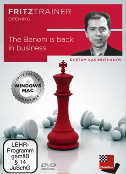 DVD: The Benoni is back in business - Rustam Kasimdzhanov 0