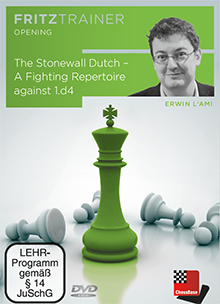 "DVD: The Stonewall Dutch - A Fighting Repertoire against 1.d4 - Erwin L""Ami 0"