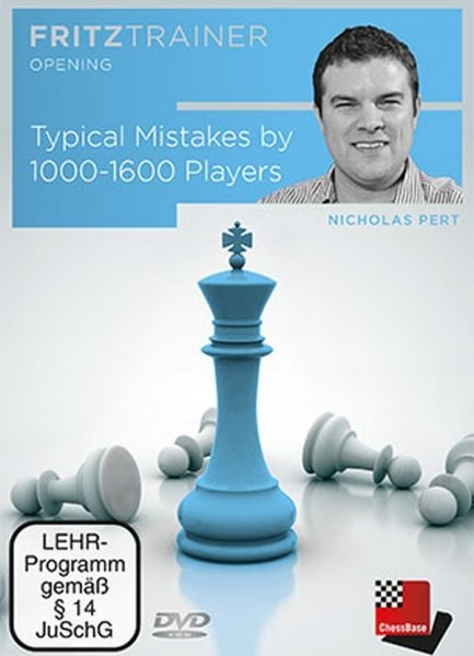 DVD: Typical Mistakes by 1000 - 1600 Players - Nicholas Pert 0