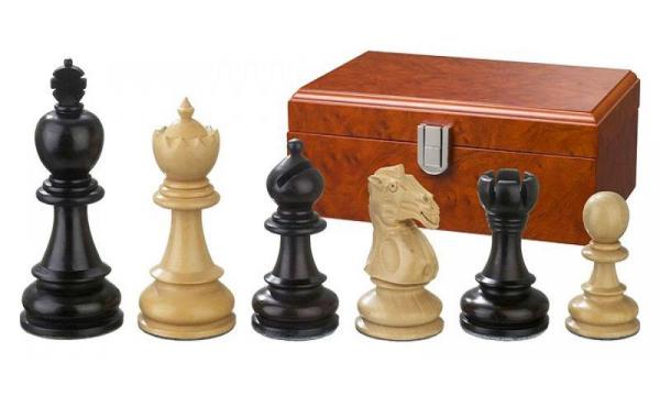 Set Piese sah lemn Staunton 5 Galerius in cutie 0