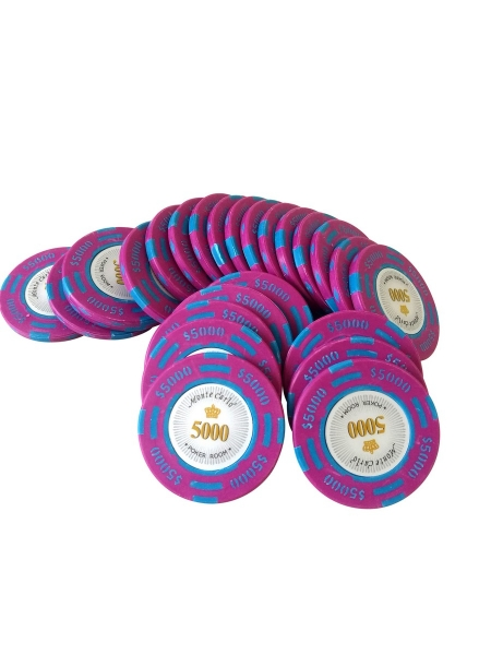 Jeton Poker Montecarlo 14 grame Clay, inscriptionat 5000 0
