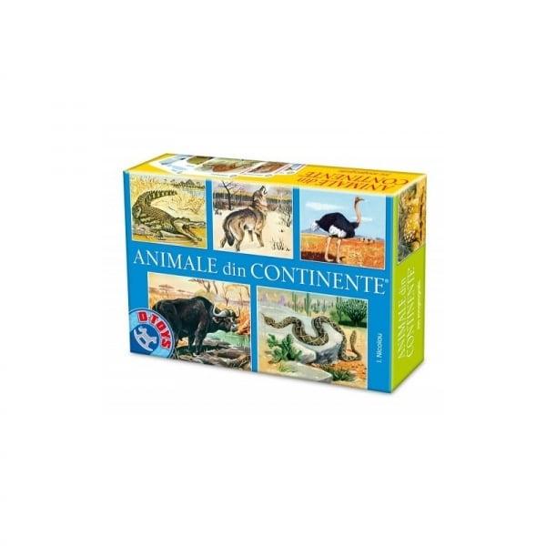 Joc Animale din Continente imagine
