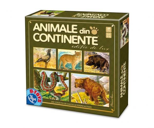 JOC ANIMALE DIN CONTINENTE - editie de lux 0