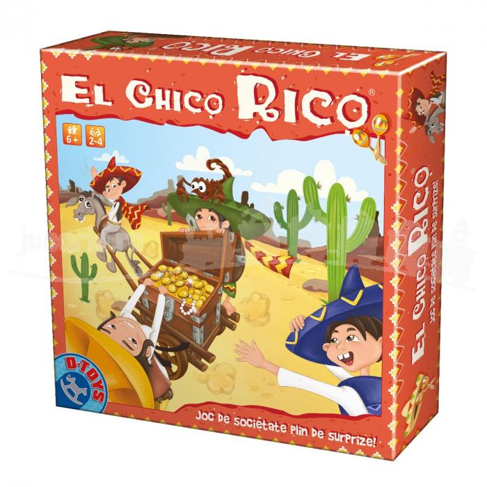 Joc El Chico Rico, D-Toys