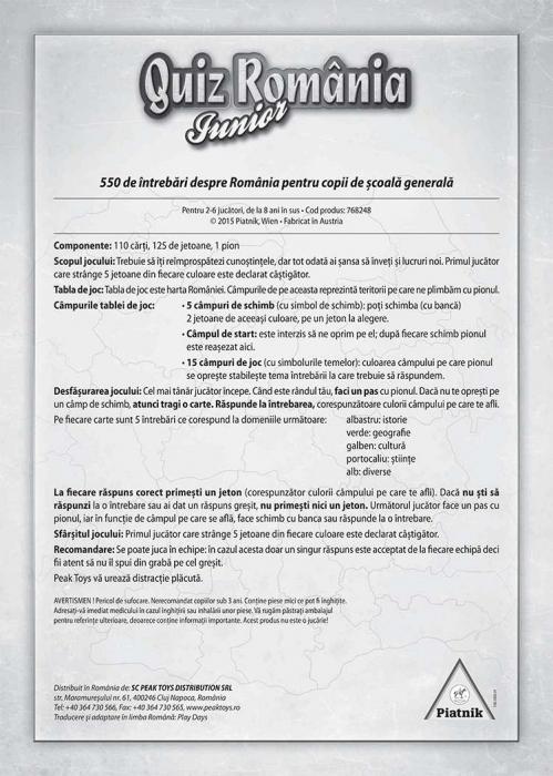 Joc Romania Quiz Junior [2]