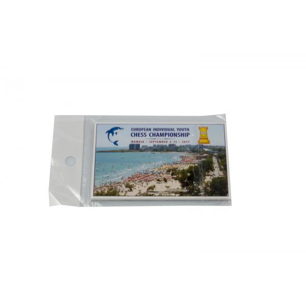 Magnet Campionatul European Copii si Juniori Mamaia 2017 - 6 x 9 cm 1