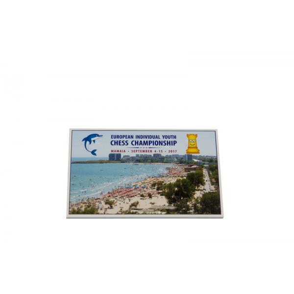 Magnet Campionatul European Copii si Juniori Mamaia 2017 - 6 x 9 cm 0