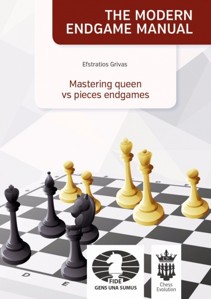 Carte : Mastering queen vs pieces endgames - Efstratios Grivas 0