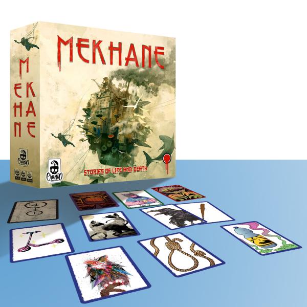 Mekhane - Card Game Narativ despre Viata si Moarte (EN) 1