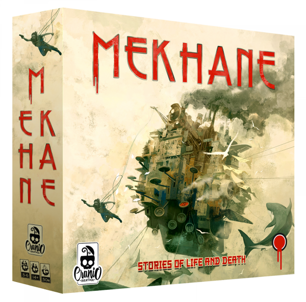 Mekhane - Card Game Narativ despre Viata si Moarte (EN) 0