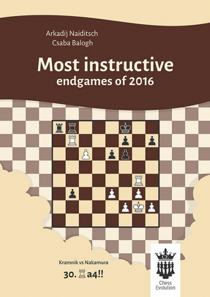 Carte : Most instructive endgames of 2016 - A. Naiditsch, C. Balogh 0