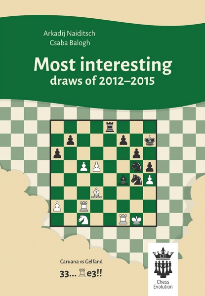Carte : Most interesting draws of 2012-2015 - A.Naiditsch, C.Balogh 0