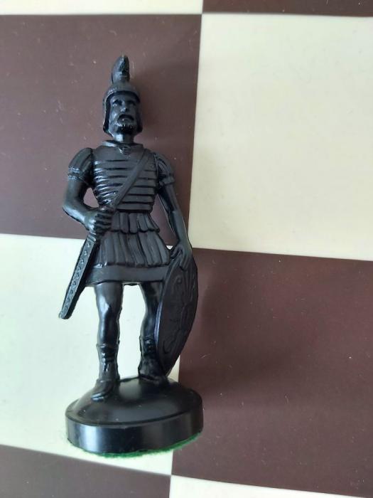 Nebun negru rezerva pentru setul tematic din plastic Roma Antica [0]