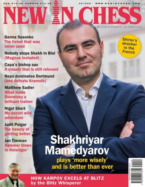 Revista : New In Chess 2018/6: The Club Player's Magazine 0
