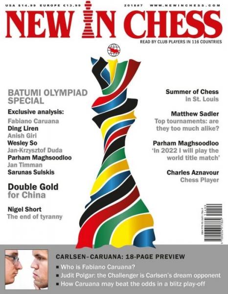 Revista : New In Chess 2018 7: The Club Player s Magazine imagine
