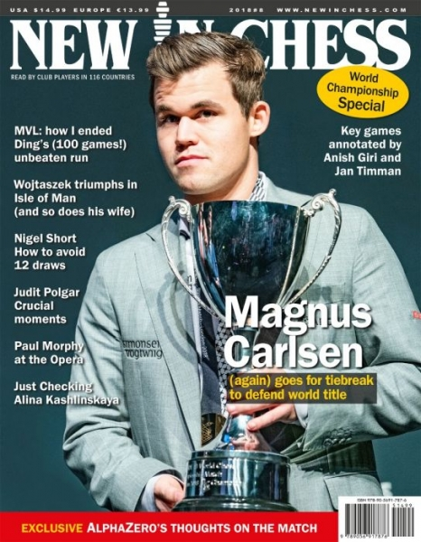 Revista: New In Chess 2018/8: The Club Player's Magazine - New in chess 0