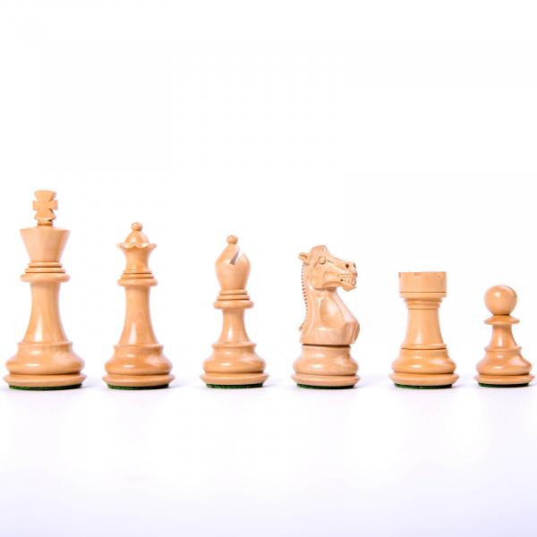Piese sah lemn Staunton 6 Tournament [2]