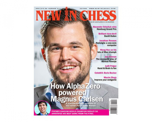Revista : New In Chess 2019 8: The Club Player s Magazine - New in chess imagine