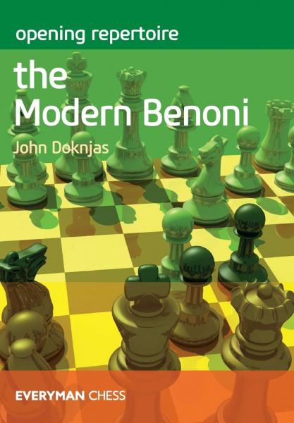 Carte : Opening Repertoire: The Modern Benoni - John Doknjas 0