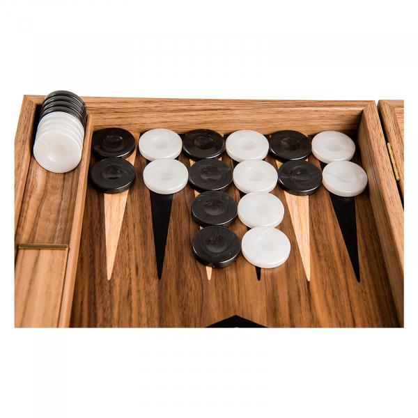 Puluri joc table - perlate negru - d.37mm 1