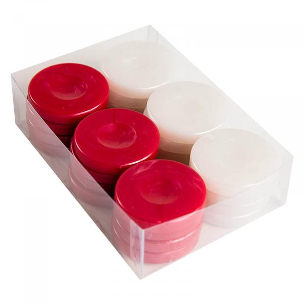 Puluri joc table - perlate rosu - d.37mm 0