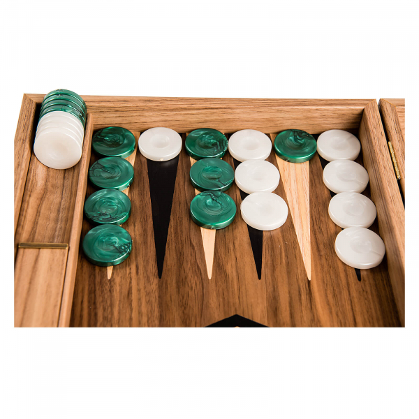 Puluri joc table - perlate  verde - d.37mm 1