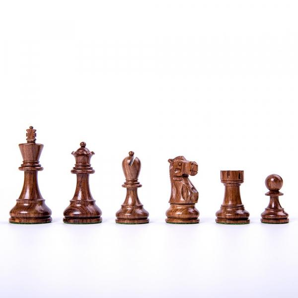 Piese de sah din lemn Staunton 6 - Executive EQ 1