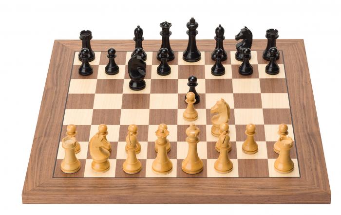Piese de sah electronice din lemn oficial FIDE [1]