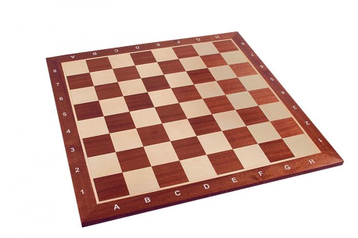 Piese lemn Staunton 5 in cutie  cu tabla mahon nr. 5 2
