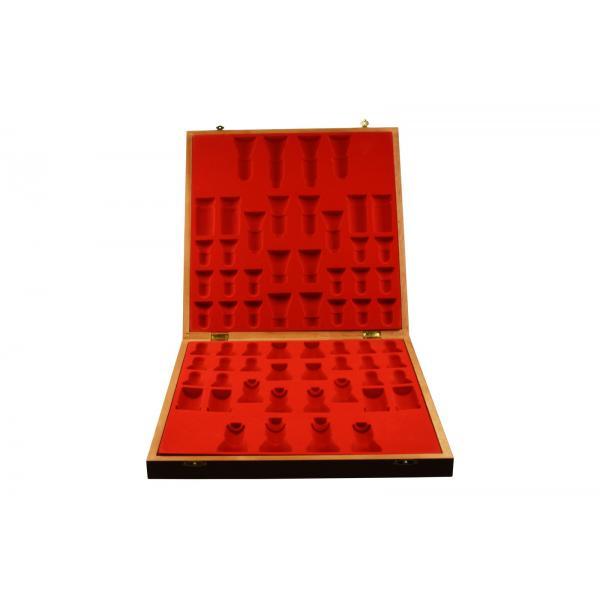 Piese lemn Staunton 5 in cutie Lux 4