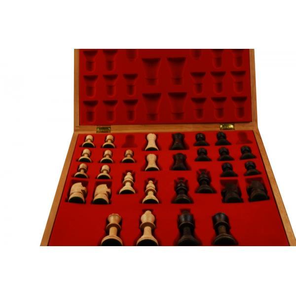 Piese lemn Staunton 5 in cutie Lux 3