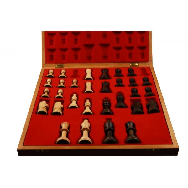 Piese lemn Staunton 5 in cutie Lux 2
