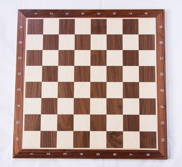 Piese lemn Staunton 6 Design Alban cu Tabla lemn no 6 - nuc/artar 1