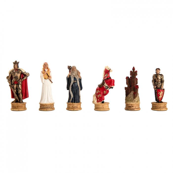 Piese sah tematice din ceramica - King Arthur 0