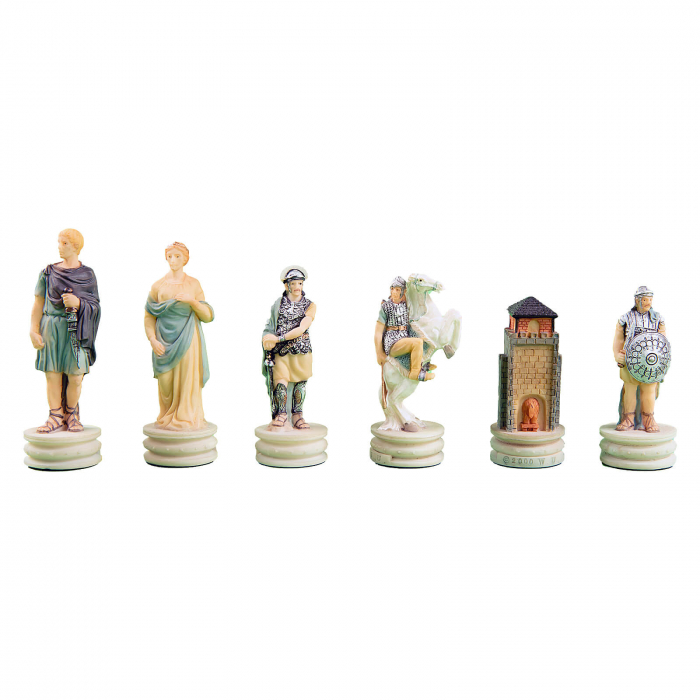 Piese sah tematice din ceramica - Grecii si Romanii 1