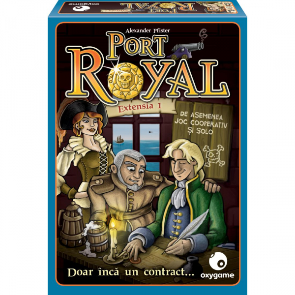 Port Royal: Doar inca un contract