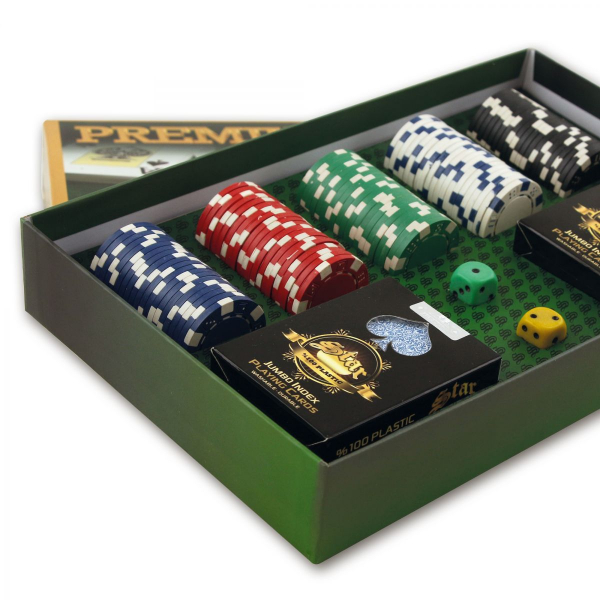 Set Poker Star, 100 jetoane DICE 1