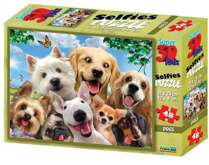 Puzzle 3D, 48 piese - Dog 0