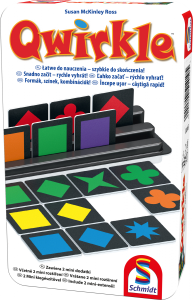 Qwirkle in cutie metalica