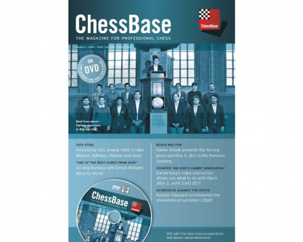 Revista : ChessBase - The Magazine for Professional Chess - March / April 2019 - No. 188 0