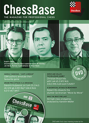 Revista : ChessBase - The Magazine for Professional Chess - May / June 2021 / No. 201 [0]