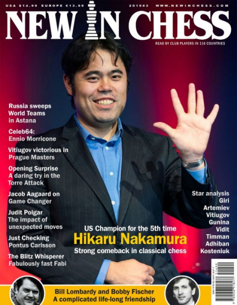 Revista : New In Chess 2019/3: The Club Player's Magazine 0