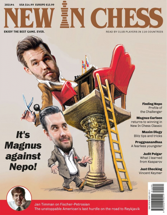 Revista : New In Chess 2021/4: The Club Player's Magazine [0]