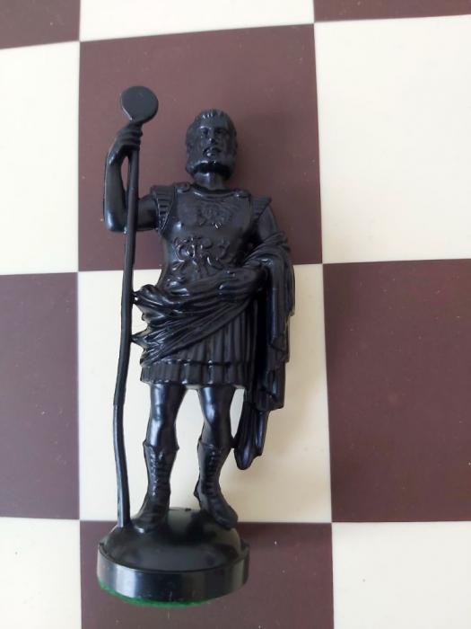 Rege negru rezerva pentru setul de plastic Roma  Antica [0]