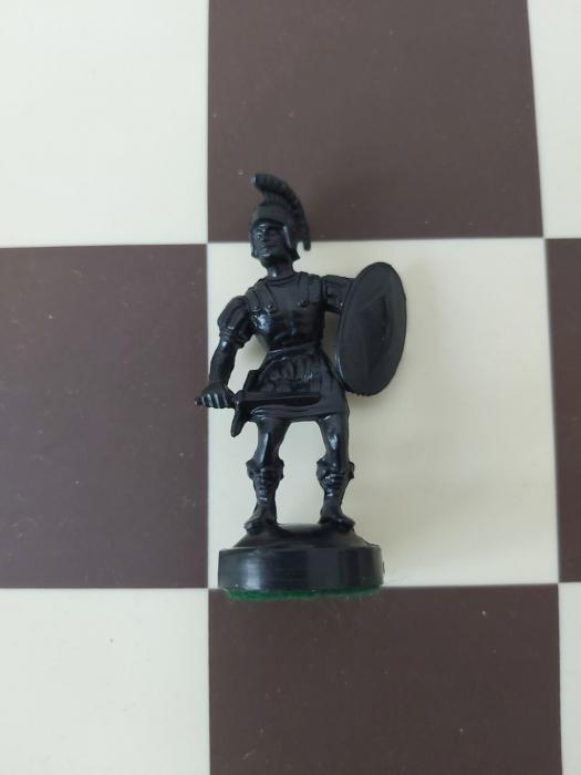 Pion Negru Rezerva pentru setul tematic din plastic Roma Antica 0
