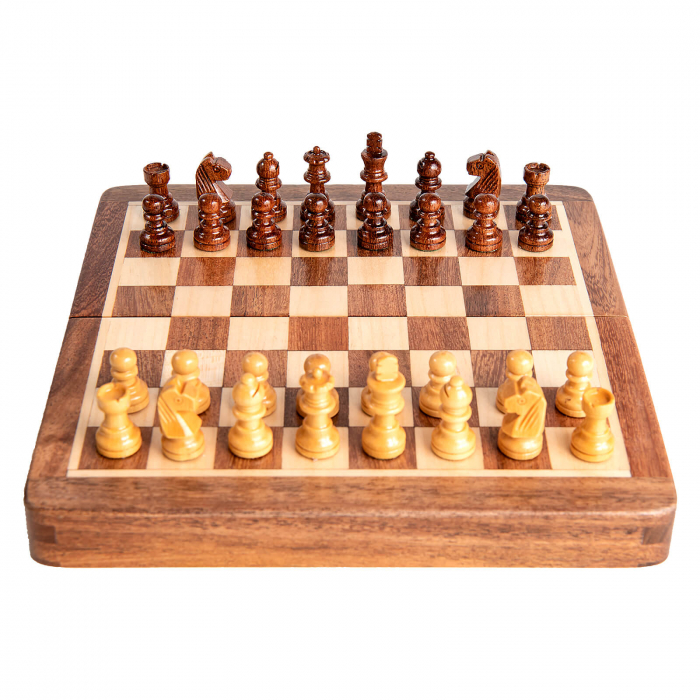 Sah magnetic lemn kh31 mm, 18x18 cm 5